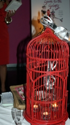 SP Book Launch Stilettos in Bird Cages