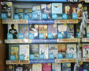 SP at Liverpool St Station, London, WH Smith Top 100