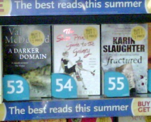 SP at Liverpool St Station London - WH Smith