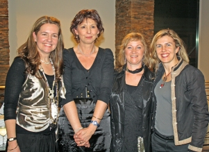 L-R SP Emma Bowd, Linda Lorenz (Kidna Books), Ali Hill (Bayside Libraries) and Mandy Burns (CEO, Ardoch Youth Foundation)