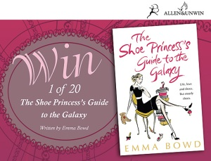 NOVO Web competition Shoe Princess